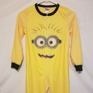Other - DESPICABLE ME KIDS MINION FILL BODY PAJAMAS SIZE M